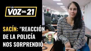 """Leah Sacín, periodista de RPP: """"La reacción de la Policía nos sorprendió"""""""