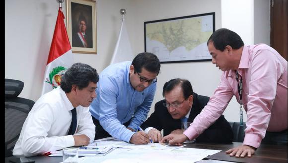 Ministro de Transportes y  Comunicaciones se reunió con gobernadores regionales de Amazonas y Ucayali para atender demandas de sus regiones y establecer cronogramas de trabajo (Foto: MTC)