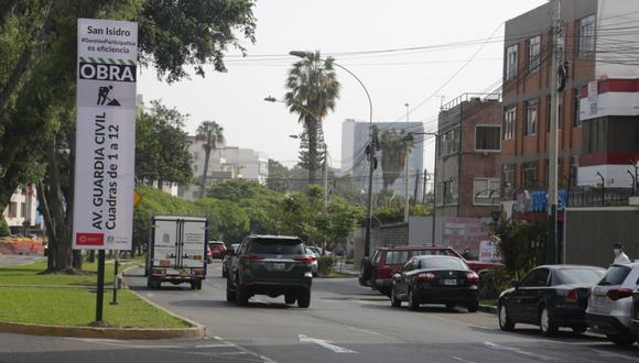 La comuna de San Isidro instó a los conductores a tomar las precauciones del caso para evitar cualquier tipo de congestionamiento.  (Foto: Municipalidad de San Isidro)