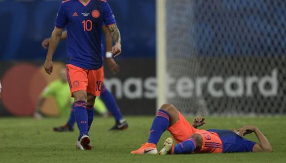 Roger Martínez reemplazó a Luis Muriel en la selección de Colombia. (Foto: AFP)