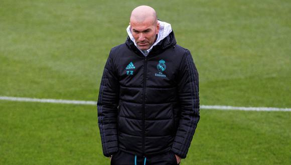 Zinedine Zidane retornó a Canadá para continuar con la pretemporada de Real Madrid. (Foto: EFE)