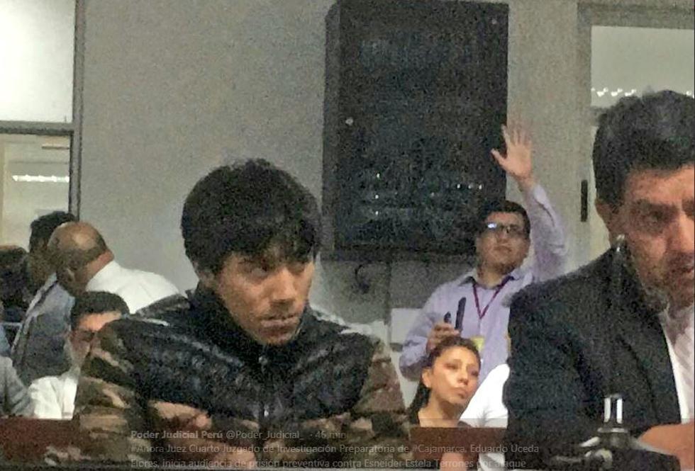 Esneider Estela Terrones es el repudiado sujeto que agredió salvajemente a Juanita Estela Terrones. (Poder Judicial)