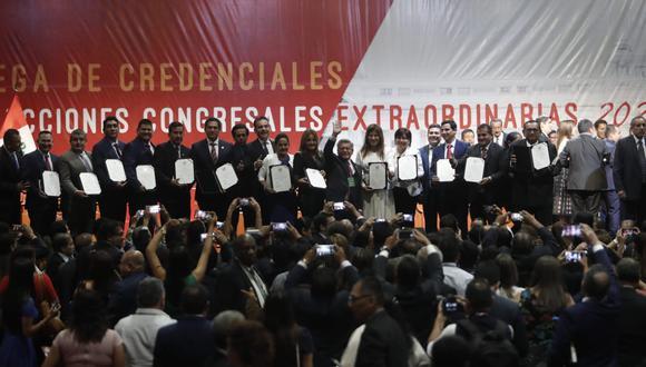 APP cuenta con 22 congresistas y buscan aferrarse a la mamadera (Foto: César Campos / GEC).