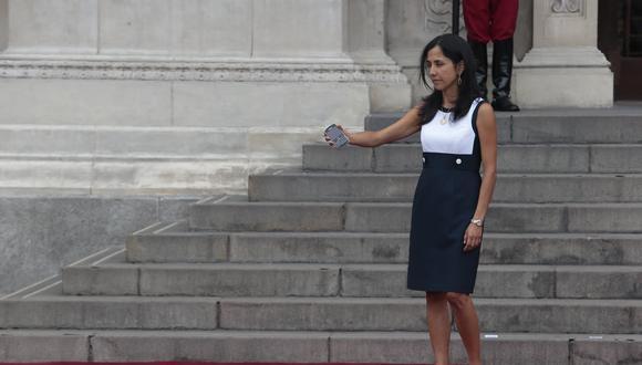 """Nadine Heredia es imputada por haber sido """"funcionaria de facto"""" durante el gobierno de Ollanta Humala. (GEC)"""