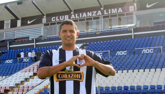 Manco debutó a nivel profesional en abril del 2007 con camiseta de Alianza Lima. (Foto: GEC)