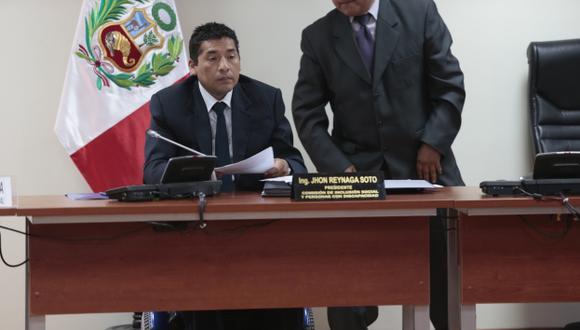 Jhon Reynaga: Empresa ligada al congresista contrató pese a fallo de Osce. (César Fajardo)