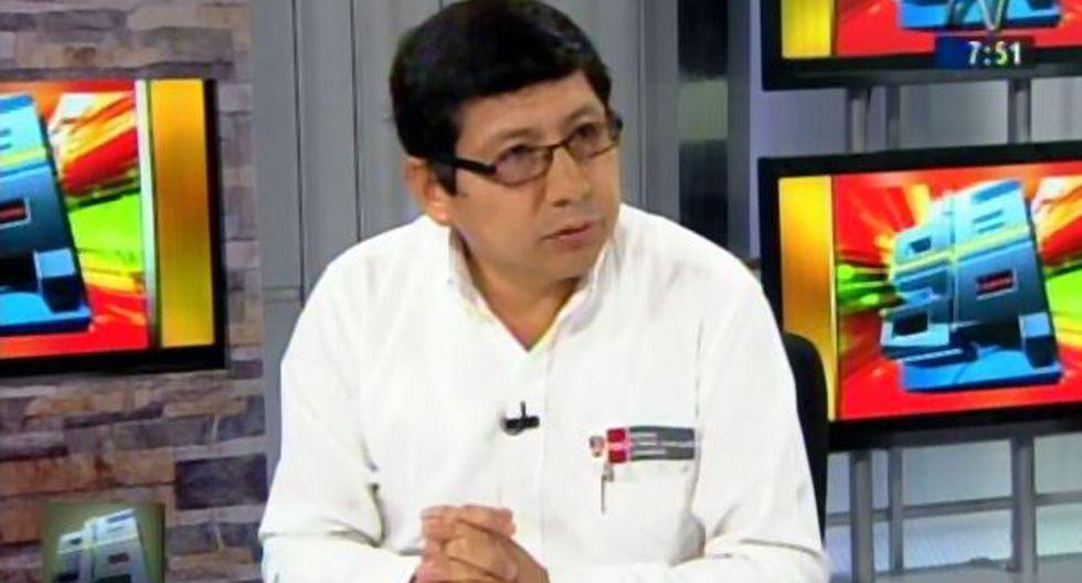 Ministro de Vivienda, Edmer Trujillo anunció que el gobierno entregará subsidios para las casas para damnificados de los huaicos. (Captura de TV)