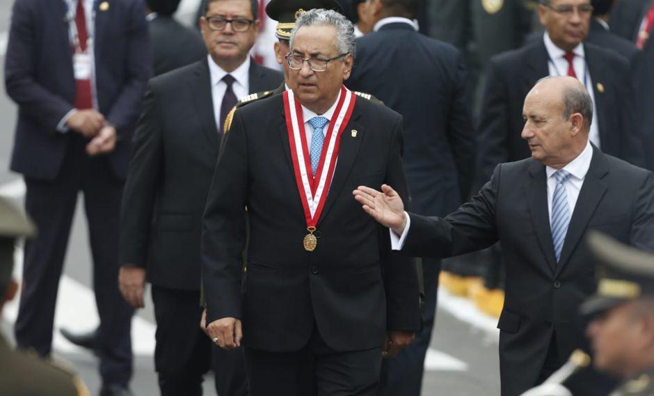 El presidente del Poder Judicial señaló que no pueden tomar ninguna medida contra algún magistrado hasta que no se instale la Junta Nacional de Justicia. (Foto: Mario Zapata / GEC)