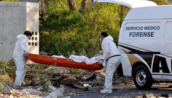 Los muertos hallados este jueves tenían entre 20 y 25 años. (AFP)
