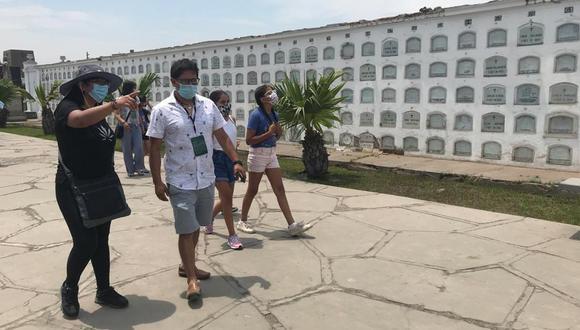 La Beneficencia de Lima indicó que el cupo de ingreso a los cementerios es limitado para cumplir las medidas de bioseguridad a fin de evitar contagios de coronavirus (COVID-19). (Foto: Difusión)