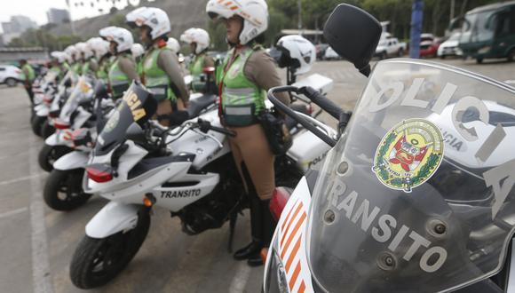 Alerta, conductores. Policía intensificará los operativos en las carreteras. (Mario Zapata)