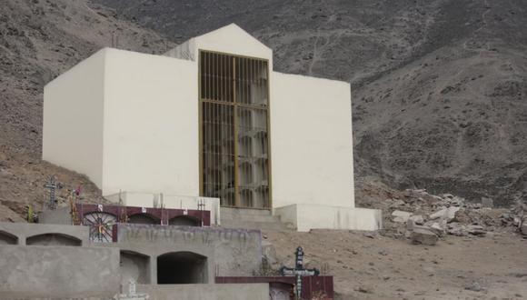 El mausoleo fue levantado en el cementerio Mártires 19 de Julio, en Comas. (El Comercio)
