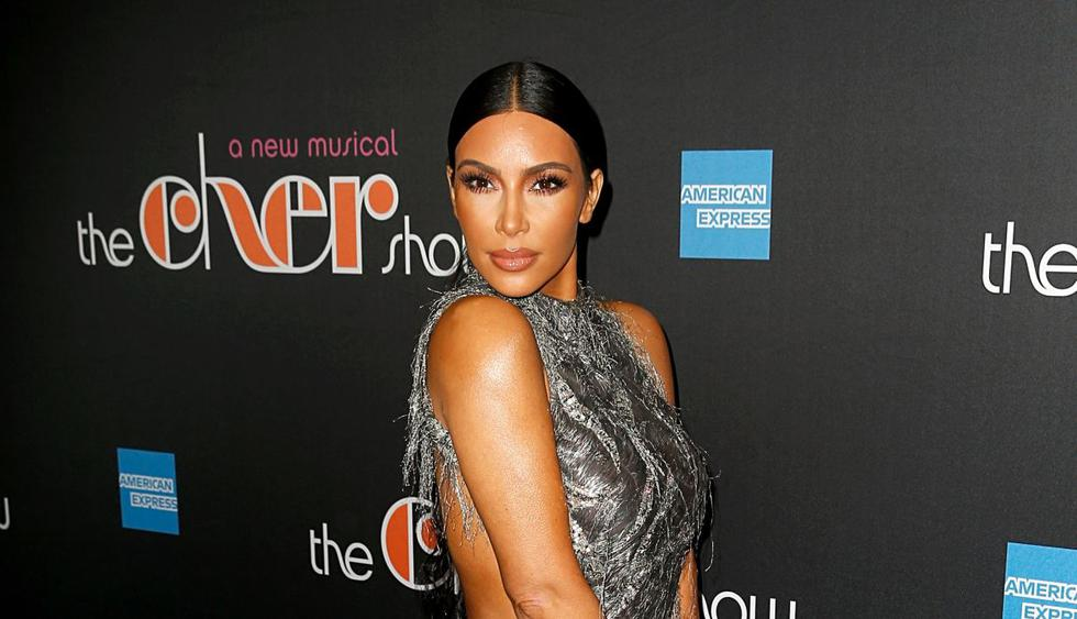 La socialité Kim Kardashian  mostró en Instagram cómo la psorisis viene afectando su cuerpo. (Foto: AFP)