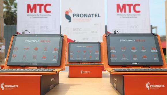 Ayacucho: hicieron entrega de más de 5 mil tablets para estudiantes de la región (Foto: MTC)