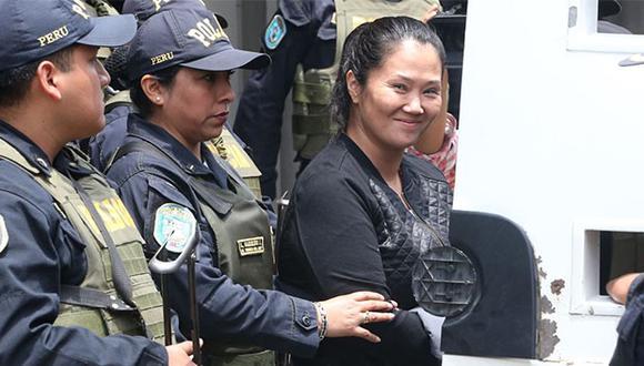 Keiko Fujimori se encuentra en el penal Anexo de Mujeres de Chorrillos desde el pasado 1 de noviembre. (Foto: Agencia Andina)