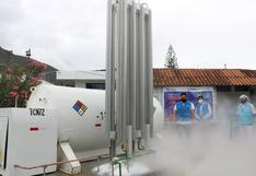 Huánuco: Ponen en funcionamiento isotanque que duplicará la capacidad de abastecimiento de oxígeno | VIDEO