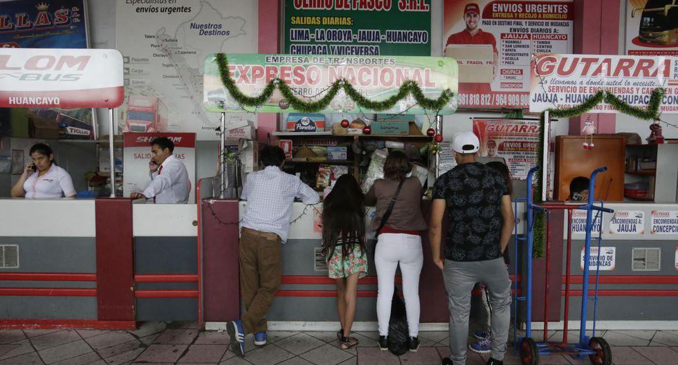 Las boleterías lucen con pocas personas que deciden viajar al interior del país. (Foto: Captura RPP Noticias/Andina)
