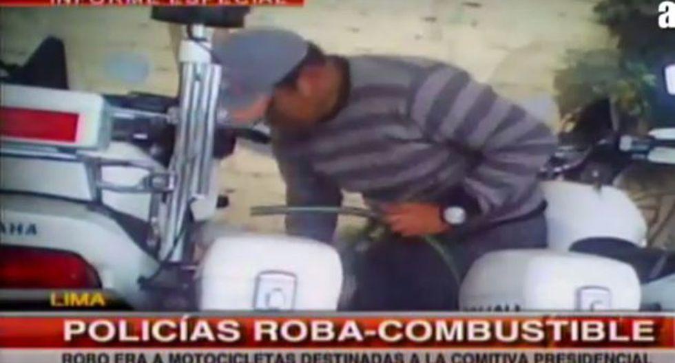 Los agentes fueron grabados con un cámara oculta. (Primera Noticia/ATV)