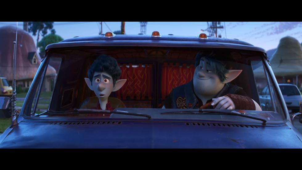 """""""Onward"""": Pixar lanza el tráiler y póster de la película animada (Foto: Captura de pantalla)"""