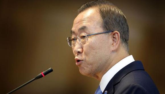 Ban Ki-moon dice que toda acción debe tener el aval del Consejo de Seguridad. (AP)