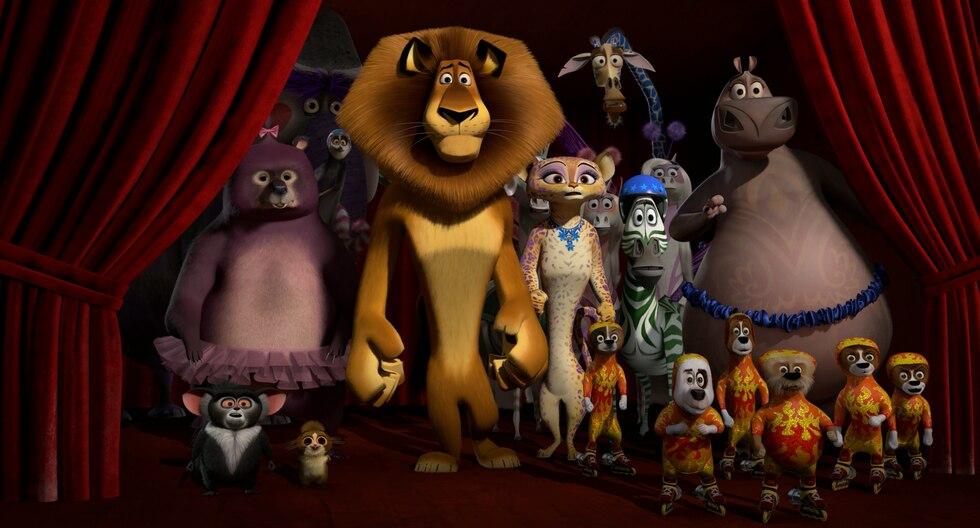 La tercera entrega de la película Madagascar fue estrenada en 2012. (Internet)