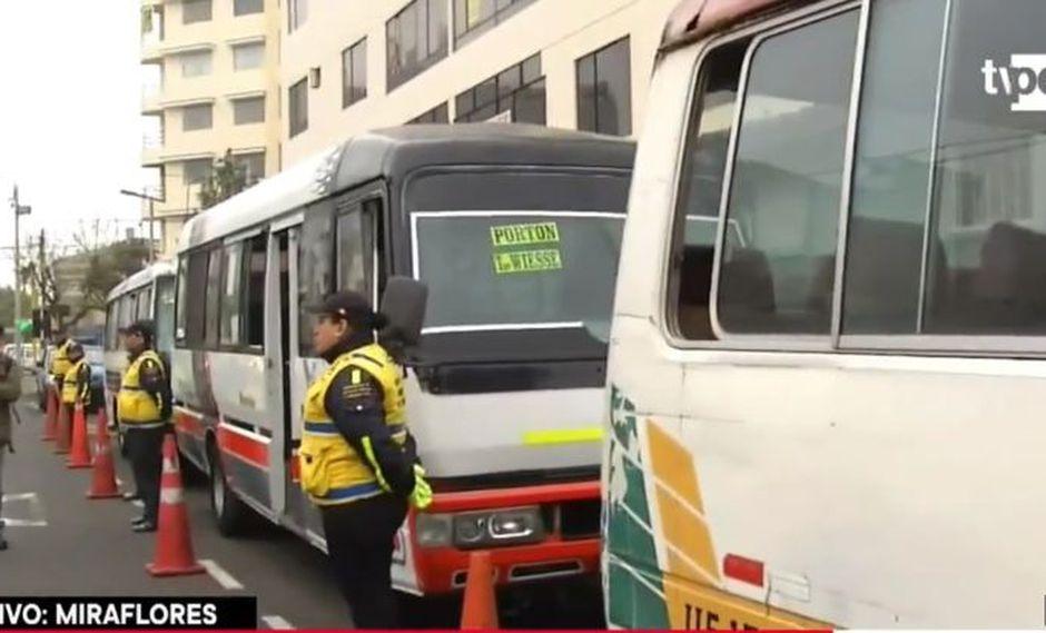 Las unidades suman más de S/ 2 millones en papeletas. (Foto: Captura TV Perú Noticias)