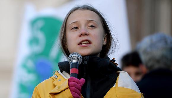 """Para Greta Thunberg, al igual que en la lucha contra el cambio climático, se debe """"ayudar a los más vulnerables en primer lugar"""". (Foto: AFP)"""