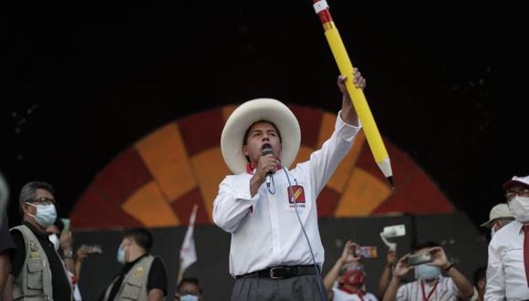 El Comité Ejecutivo Nacional de Perú Libre presentó el plan de gobierno de Pedro Castillo en sus primeros 100 días de gestión. (Foto: Renzo Salazar / GEC)