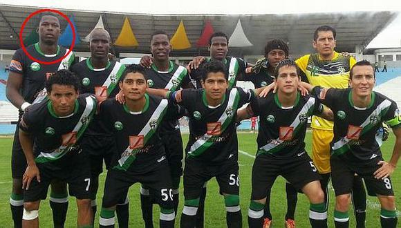 """""""Max Barrios"""" debutó en el fútbol de Ecuador con su verdadero nombre. (futboldelascensoecuador.blogspot.com)"""