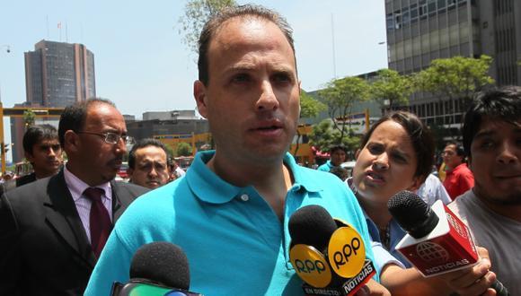 Rómulo León Romero es acusado de balear a su ex pareja y darse a la fuga. (USI/Canal 4)