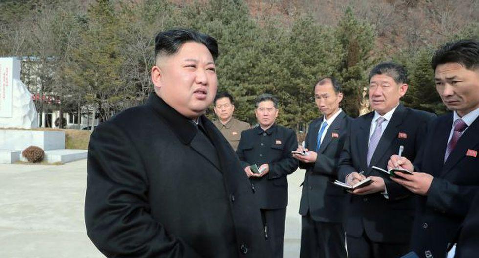 El líder del régimen de Corea del Norte, Kim Jong-un. (Foto: AFP)
