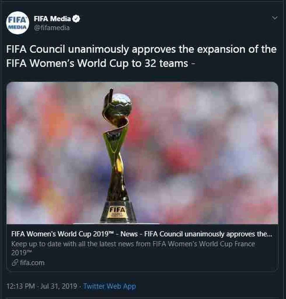Estados Unidos es el vigente campeón mundial de fútbol femenino. (Foto: AFP)