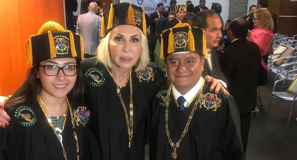 Laura Bozzo es nombrada Doctora Honoris Causa y recibe la medalla Benito Juárez en México. (Foto: @laurabozzo)