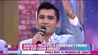 """Angelo Fukuy espera que Christian Domínguez lo busque: """"Estoy dispuesto a disculpar"""""""