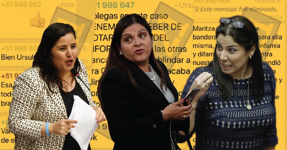 Los legisladores fujimoristas tenían un chat en Whatsapp llamado 'La Botica'. (Perú21)