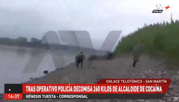 Los detenidos fueron identificados como Walter Guzmán Sandoval (43) y Moisés Amasifuen Novoa (44). (ATV+)
