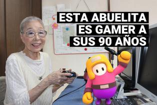 Gamer Grandma: Abuelita gamer de 90 años juega Fall Guys y es la sencación de Internet
