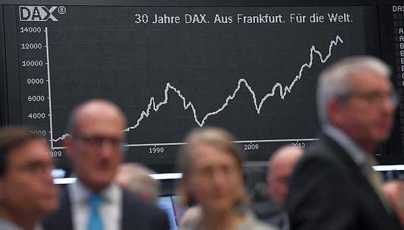 Algunas bolsas abrieron al alza y otras a la baja. (Foto: AFP)