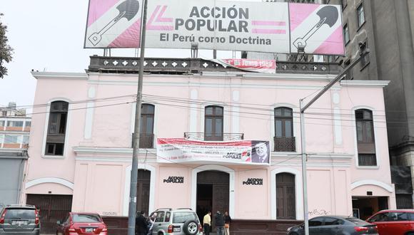 La lista de candidatos al Parlamento Andino de Acción Popular está encabezada por la congresista Leslie Lazo. (Foto: GEC)