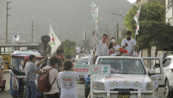 """Juntos por el Perú reconoció no haber podido lograr una """"sintonía"""" con la población de cara a las Elecciones Generales del pasado domingo 11 de abril. (Foto: José Rojas Bashe / @photo.gec)"""