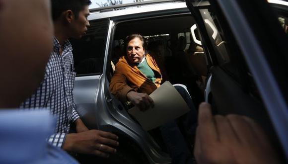 En campaña. El ex presidente insiste en que la investigación fiscal busca impedir su candidatura. (César Fajardo)