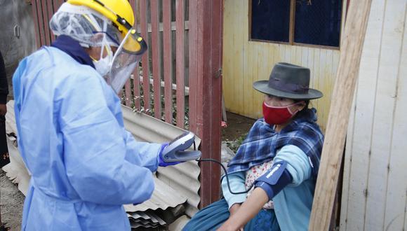 Red Amachay monitorea a más de 180 mil personas para prevenir contagios por COVID-19 (Foto: Midis).