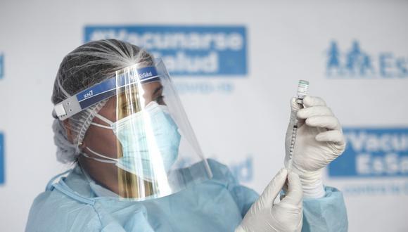 """Canciller Allan Wagner anunció que en marzo el país podría recibir """"un lote muy importante"""" de 12 millones de vacunas contra la COVID-19 del laboratorio chino Sinopharm. Foto: Jesus Saucedo / @photo.gec"""