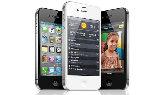 La nueva versión del iPhone tiene una capacidad de 16 GB y 32 GB. (Internet)