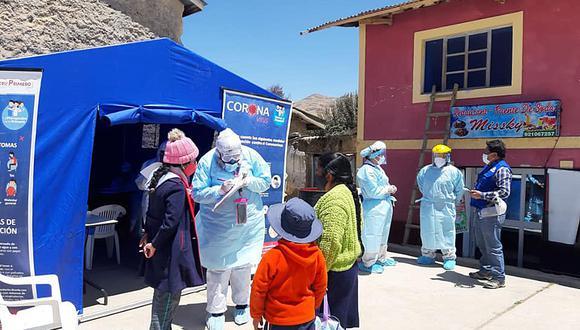 54.6% de casos positivos en Huancavelica son mujeres (Foto: Gore Huancavelica).