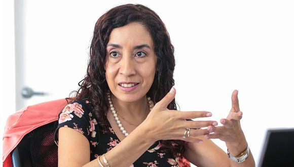 Giovanna Prialé indicó que si ambas iniciativas se aprueban en sesión plenaria, el Ejecutivo debería observarlas. (Foto: Diana Chávez / El Comercio)