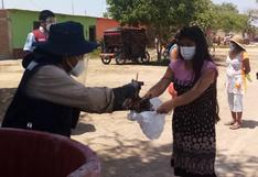 Lambayeque: donaron más de 1 tonelada de pescado en Mórrope y Olmos por Semana Santa