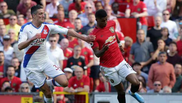 Manchester United vs. Leicester se miden por la quinta fecha de la Premier League. (Foto: AFP)
