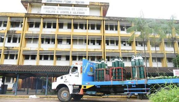 El COVID-19 ha dejado en coma al Hospital Regional de Loreto. Hay déficit de médicos y faltan balones de oxígeno. (Foto: Minsa)
