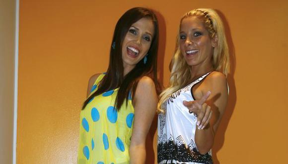 Maju señaló que desconoce si su compañera Sofía Franco seguirá en América TV el próximo año. (USI)